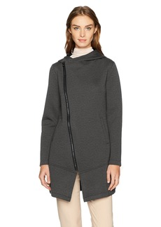 Betsey Johnson Women's Bonded Tech Fleece Coat  XS