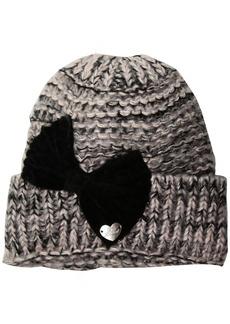 Betsey Johnson Women's Bowmg Cuff Hat