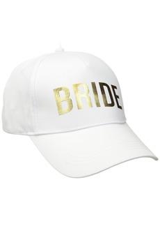 Betsey Johnson Women's Bridal Baseball Hats