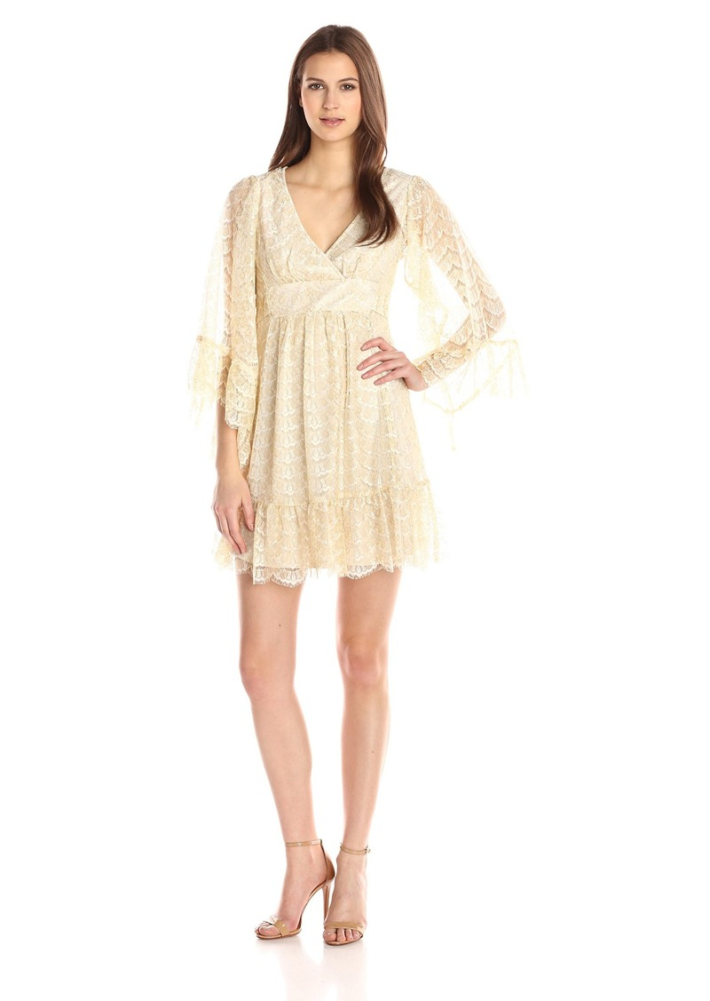 Betsey Johnson Women's Chantelle Lace Boho Dress