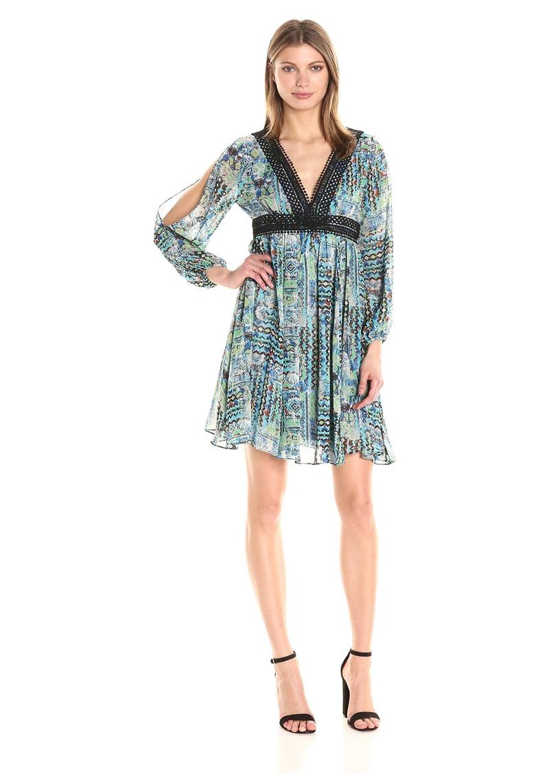 Betsey Johnson Women's Chiffon Boho Dress
