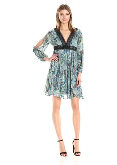 Betsey Johnson Women's Chiffon Boho Dress