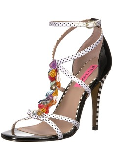 Betsey Johnson Women's Clarice Heeled Sandal