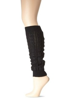 Betsey Johnson Women's Classic Cable Leg Warmer