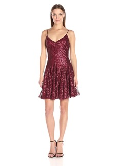 Betsey Johnson Women's Cocktail Sequins Short Dress