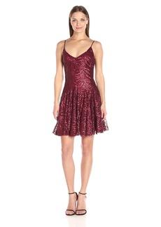 Betsey Johnson Women's Cocktail Sequins Short Dress