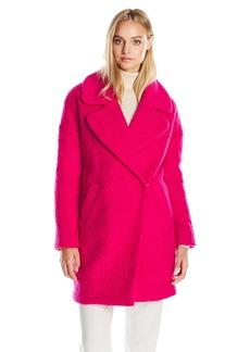 Betsey Johnson Women's Cocoon Wool Coat  L