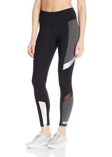 Betsey Johnson Women's Colorblock Metallic Insert Legging  XL