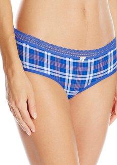 Betsey Johnson Women's Cotton Spandex Hipster Panty