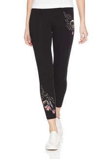 Betsey Johnson Women's Cotton/Span 7/8 Legging