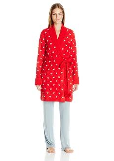 Betsey Johnson Women's Cozy Sweater Robe
