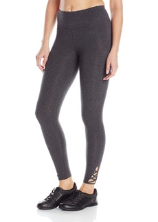 Betsey Johnson Women's Criss Cross Full Length Legging 26 Inch