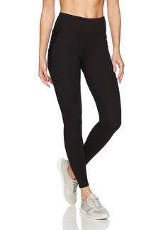 Betsey Johnson Women's Criss Cross Hip Insert Ankle Legging  M