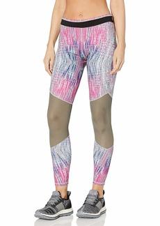 Betsey Johnson Women's Criss Cross Mesh 7/8 Legging  S