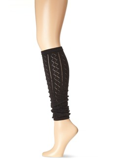 Betsey Johnson Women's Crochet Leg Warmers