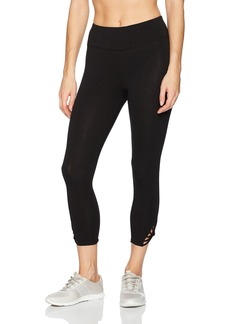 Betsey Johnson Women's Crop Legging  Extra Small