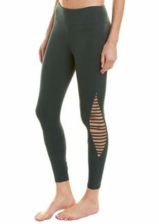 Betsey Johnson Women's Diamond Cutout MID Rise 7/8 Legging  Extra Small