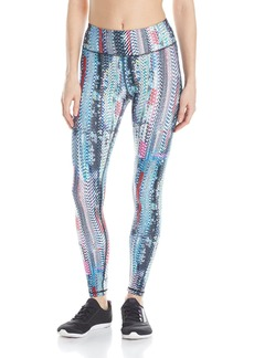 Betsey Johnson Women's Digital Glitch Printed Ankle Legging