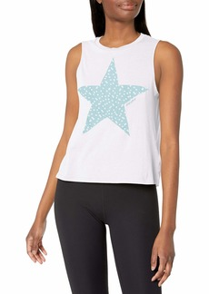 Betsey Johnson Women's Dotted Star Muscle Swing Tank