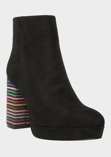 Betsey Johnson Women's Downie Platform Booties Women's Shoes