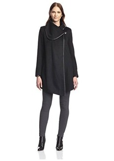 Betsey Johnson Women's Drape Coat