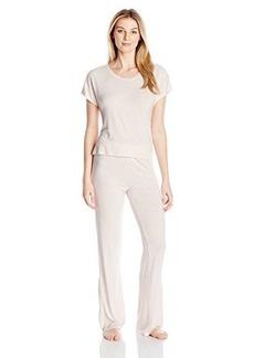 Betsey Johnson Women's Draped Back Pajama Set
