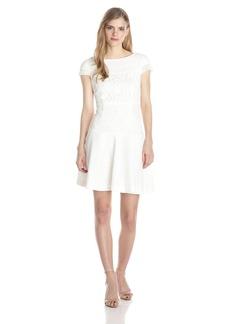 Betsey Johnson Women's Drop Waist Lace Dress