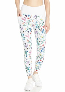 Betsey Johnson Women's Extra High Rise 7/8 Printed Legging