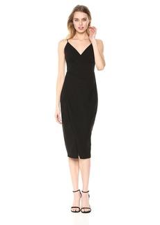 Betsey Johnson Women's Faux Wrap Dress