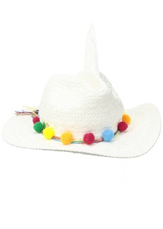 Betsey Johnson Women's Fiesta Panama Hat