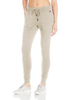 Betsey Johnson Women's Fleece Back Skinny Sweatpant  M