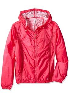 Betsey Johnson Women's Flocked Back Woven Jacket