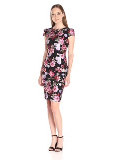 Betsey Johnson Women's Floral Foil Dress
