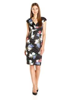 Betsey Johnson Women's Floral Scuba Dress