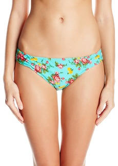 Betsey Johnson Women's Flower Bomb Hipster Bikini Bottom