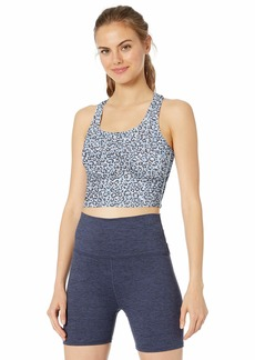 Betsey Johnson Women's Front to Back Crop Tank  Extra Small
