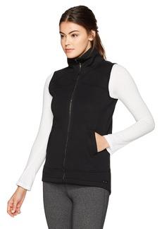 Betsey Johnson Women's Funnel Neck Scuba Walker Vest  XL