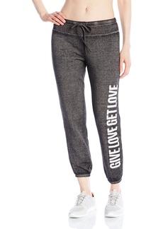 Betsey Johnson Women's Give Get Love Logo Pant