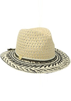 Betsey Johnson Women's Golden Hour Panama Hat