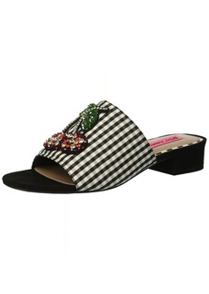 Betsey Johnson Women's Heat Slide Sandal
