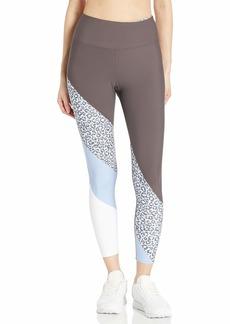 Betsey Johnson Women's High Rise 7/8 Diagonal Printed Legging