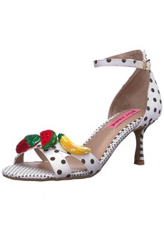 Betsey Johnson Women's Jordan Heeled Sandal