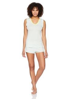 Betsey Johnson Women's Knit Shorty Pajama Set  S
