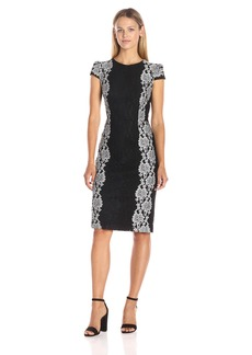 Betsey Johnson Women's Lace Dress Black/Ivory