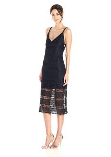 Betsey Johnson Women's Lace Midi Dress