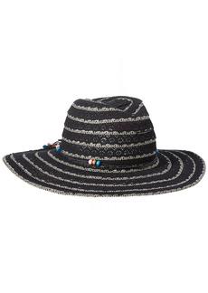 Betsey Johnson Women's Lace Panama Hat