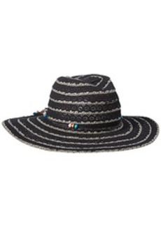Betsey Johnson Women's Lace Panama Hat