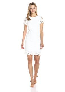 Betsey Johnson Women's Lace Shift Dress