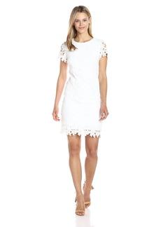 Betsey Johnson Women's Lace Shift Dress