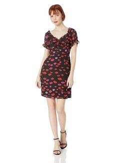 Betsey Johnson women's Lace Up Dress